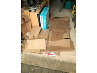 Loads of flattened cardboard boxes FREE