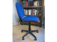 SWIVEL OFFICE CHAIR, VERY GOOD CONDITION - HARDLY USED, £10