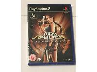 PLAYSTATION PS2 LARA CROFT TOMB RAIDER ANNIVERSARY
