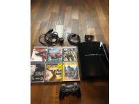 Sony PlayStation 3 80GB Piano Black Console