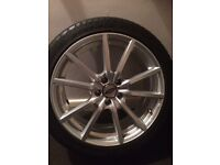 Ford alloys 18inch as new