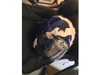 Arai Scotland flag Astr R helmet XL head size
