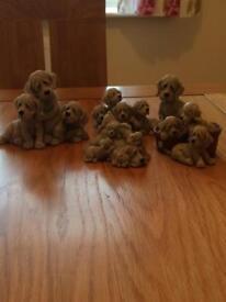 Quarry Critters Puppy granite ornaments