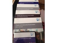 Open University access course books people, work and society