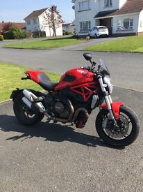 Ducati monster 1200 , 4900 miles immaculate condition with lots of extras