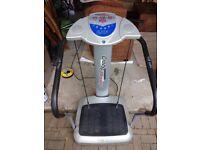 Vibro-plate Exerciser/Massager Machine