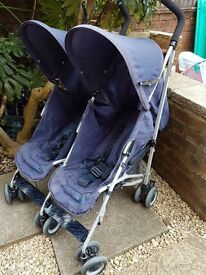 Double stroller, vgc, Can deliver