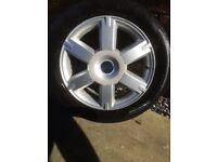 Ford focus alloy wheel off 2007 tdci sport model