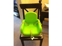 Quick Clean Portable Dining Booster Seat