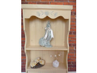 Shabby Chic Handmade solid soft wood Wall Cabinet