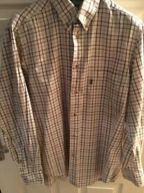 Men's Barbour shirt for sale like new