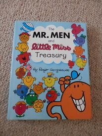 The Mr Men & Little Miss Treasury Book - Brand new large hardback book