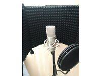 DJ - VOCAL - MC BOOTH - MICROPHONE - BUNDLE