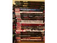 77 x Graphic Novels (Marvel, DC, etc...)