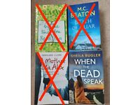 (£1.50 Each) Fiction Reading Books Various Genres - Like new Over 50 books to choose from