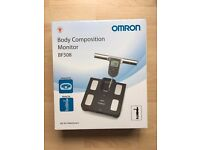 Omron Body Fat Monitor and Bathroom Scale - Unopened