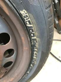 Never used tyre R15 185/55
