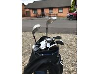 Ladies Golf Clubs - 1/2 set with bag as new.