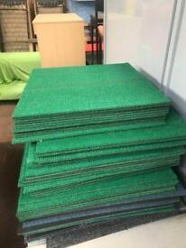Green Carpet Tiles