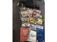 Sony PlayStation 2 with games bundle