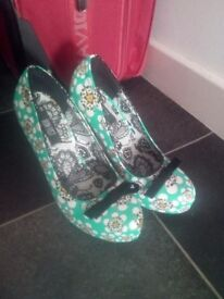 shoes. Iron fist. Size 4. Worn once. Too small for me.