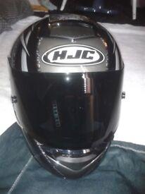 HJC MOTORBIKE HELMET MOTORCYCLE WITH BLACK VISOR NEW