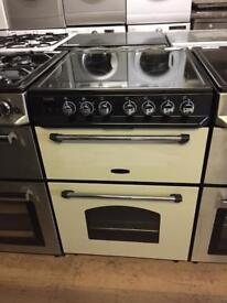 Black /Cream 60cm electric cooker