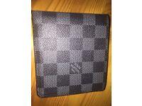 Mens LV Wallet - Black - Louis Vuitton - Designer - Quality