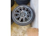 Bmw m3 18'' Alloy wheel can post