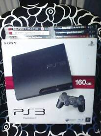 Ps3 six games two controllers
