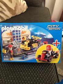 Playmobil city action racing cars