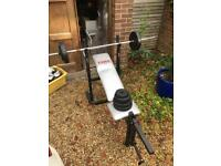 York fitness Home bench gym/bench with weights