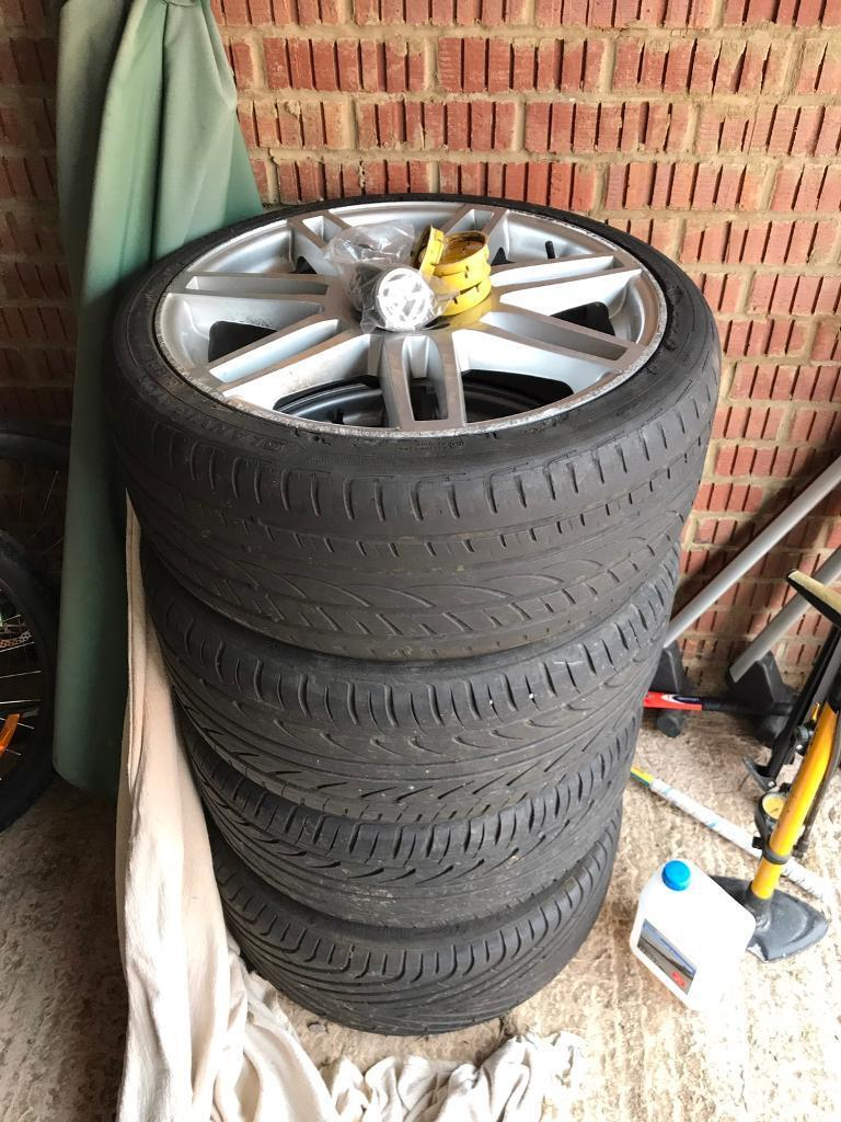 "Vw T5 bmw 20"" alloy wheels"