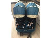 Baby Jogger City Mini Double pushchair Teal
