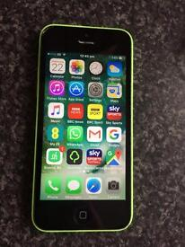 8GB IPHONE 5c ORANGE /VIRGIN /T-MOBILE I ALSO HAVE A IPHONE 5s AT £70