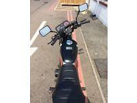 Honda Twin 125 CC D970 ROD 1987 Road legal Perfect like a first bike. Classic motorbike.