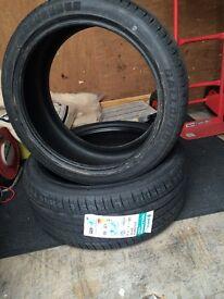Brand new 235/40/19 tyres