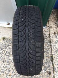 4 Bridgestone winter tyres