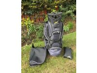 REDUCED PRICE Powakaddy Golf Bag complete with hood Good condition