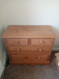 Pine Chest of Drawes
