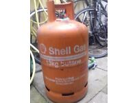Shell Gas Bottle Butane 13kg (approx 2 kg of gas)