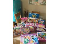 Collection of girls puzzles. Excellent condition