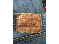 Levi 501 jeans W30 x L30