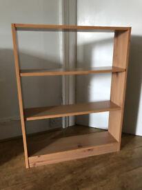 4x small argos bookshelves
