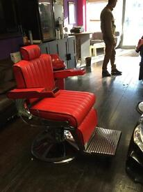Brand new barber chair