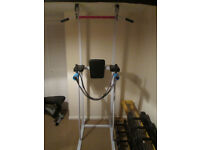 Home gym - pull up / dip stations & lots more!