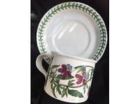 Beautiful Portmeirion cup and saucer Viola
