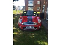 2013 mini coupe roadster only 11.700 miles CAT C chilli / sport pack