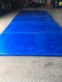 New Eva crash and tumble mats