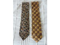 Two Ermenegildo Zegna Ties